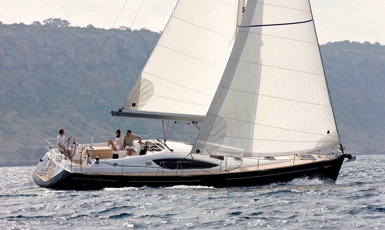 Have an amazing time in Guarujá, Brazil on Jeanneau DS 51 Cruising Monohull