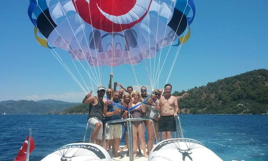 Amazing Parasailing Experience Ready To Book Out Of Antalya, Turkey.