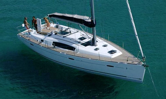 43' Beneteau Oceanis Cruising Monohull In Paleo Faliro, Greece For Charter