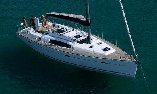 43' Beneteau Oceanis Cruising Monohull In Paleo Faliro, Greece For Charter
