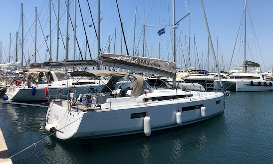 Sun Odyssey 440 Cruising Monohull Charter For 8 People In Athens, Greece