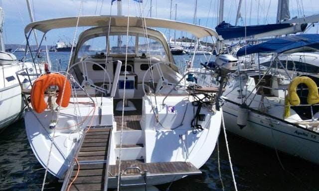 ATLANTIDA Elan 444 Impression Cruising Monohull available for charter in Pireas, Greece