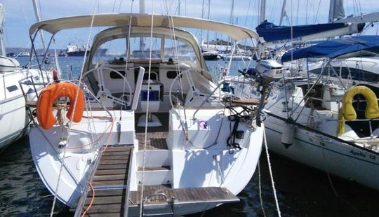 Atlantida Elan 444 Impression Cruising Monohull Available For Charter In Pireas, Greece