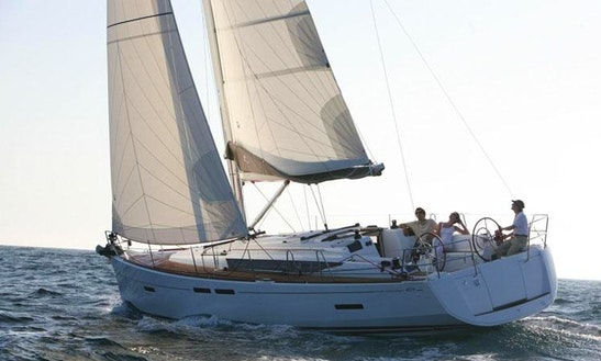 41' Jeanneau Sun Odyssey Cruising Monohull Charter In Paleo Faliro, Greece