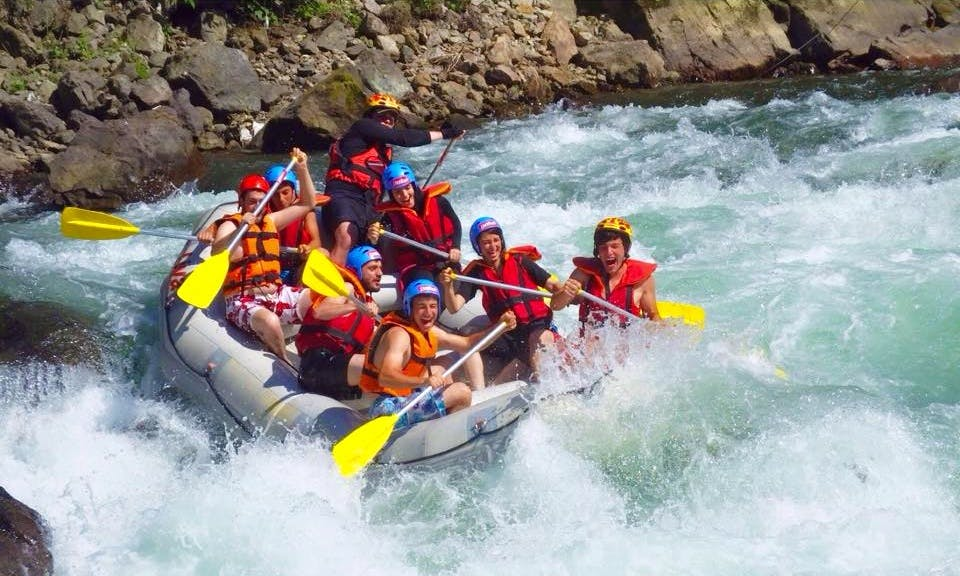 Explore Muğla Turkey in an adventurous way of rafting