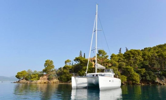 Enjoy Sailing On Lagoon 400 S2 Cruising Catamaran In Paleo Faliro, Greece