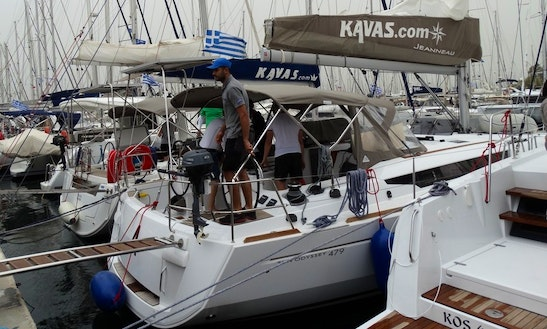 Hit The Water In Athens, Greece On 46' Jeanneau Sun Odyssey Cruising Monohull