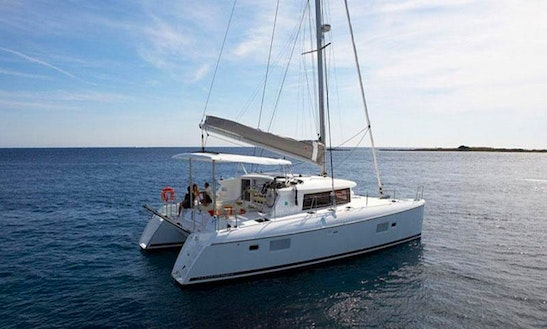 Explore On This Lagoon 420 Cruising Catamaran In Paleo Faliro, Greece