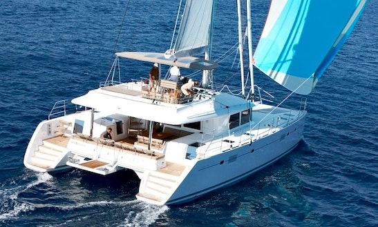 Charter The Yacht Of Your Dreams Lagoon 560 Cruising Catamaran In Athens, Greece