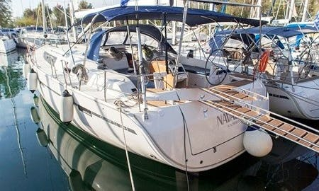 Amazing NAVARINO Bavaria Cruiser available for charter in Lavrio, Greece