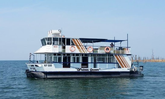 Have An Amazing Time In Kariba, Zimbabwe On 65' Houseboat