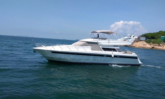 Charter A Gorgeous And Fully Equipped 20 People Motor Yacht In Hong Kong Island
