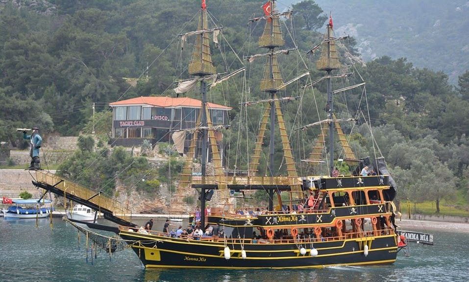 Enjoy Mugla,Turkey aboard traditional cruising boat