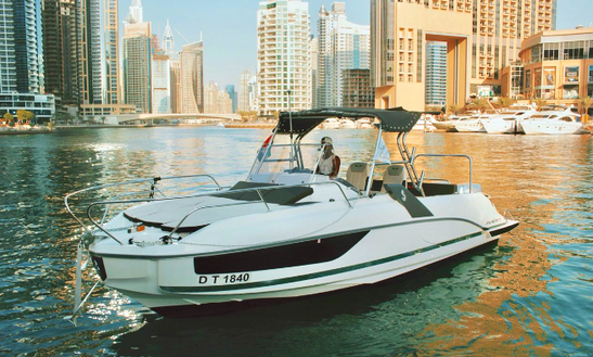 Explore Dubai Aboard This Motor Yacht Perfect For Family Cruising