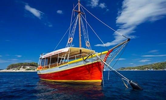 Charter A Passenger Party Boat In Hvar, Croatia