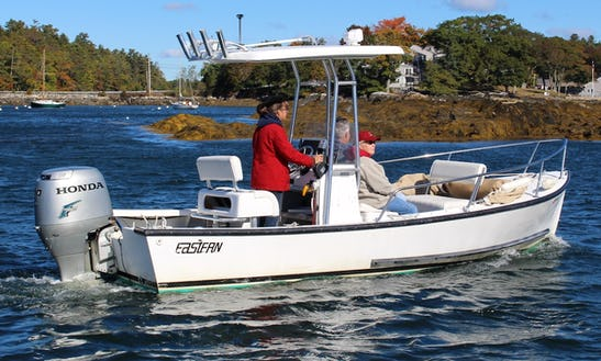 Eastern 19 T-top Center Console Rental In Boothbay Harbor