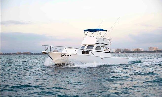 Custom 36 Fishing, Cruising, Whale Watching in Puerto Vallarta