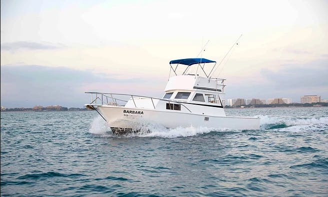 Custom 36 Fishing, Cruising, Whale Watching in Puerto Vallarta