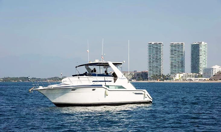 Cruiser 44 Flybridge Motor Yacht Charter in Puerto Vallarta, Mexico
