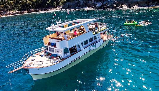Ultimate Custom Luxury 50 Motor Yacht Charter In Puerto Vallarta, Mexico