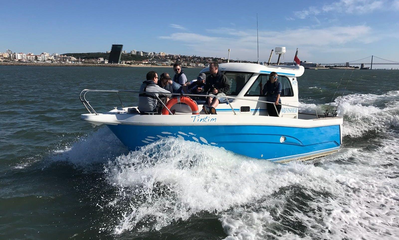 TINTIM FISHING TRIPS w/ BBQ & Transfers in Lisbon, Portugal