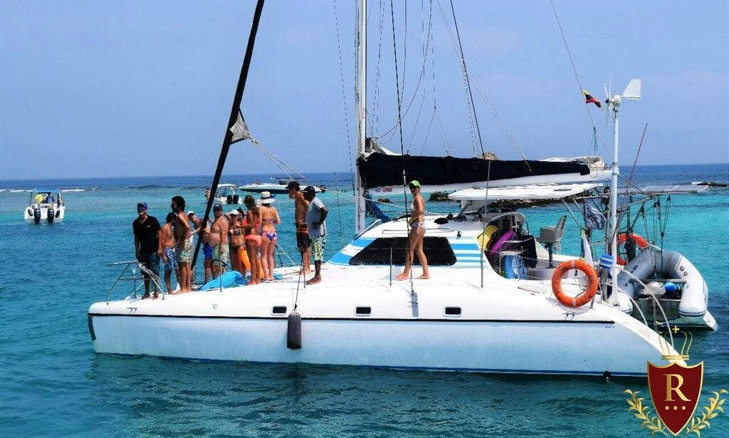 40 ft Beach Catamaran rental in Cartagena