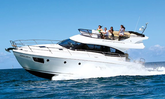 Bavaria Virtess 420 Motor Yacht For 18 People In Hong Kong Island