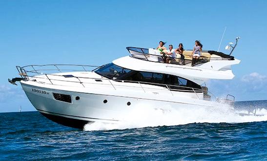 Bavaria Virtess 420 Motor Yacht For 18 People In Hong Kong Island