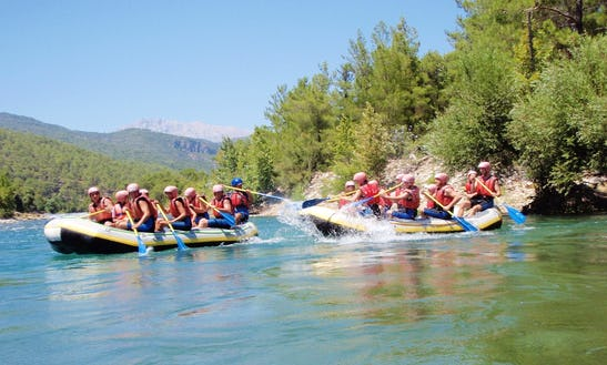 An Amazing Rafting Experience In Antalya, Turkey