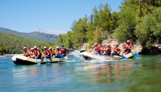 An Amazing Rafting Experience In Antalya, Turkey For $20 Per Person