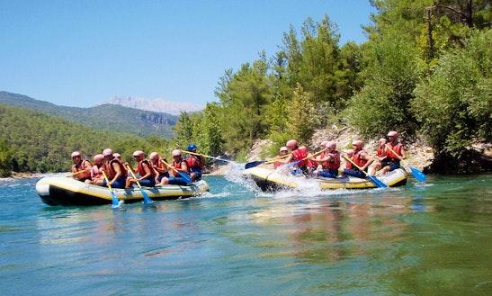 An Amazing Rafting Experience In Antalya, Turkey