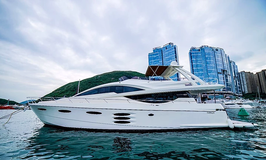 Nm 78 Fly Power Mega Yacht For 30 People In Hong Kong Island