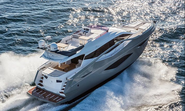 NM 60 Fly Power Mega Yacht For 15 People in Hong Kong Island