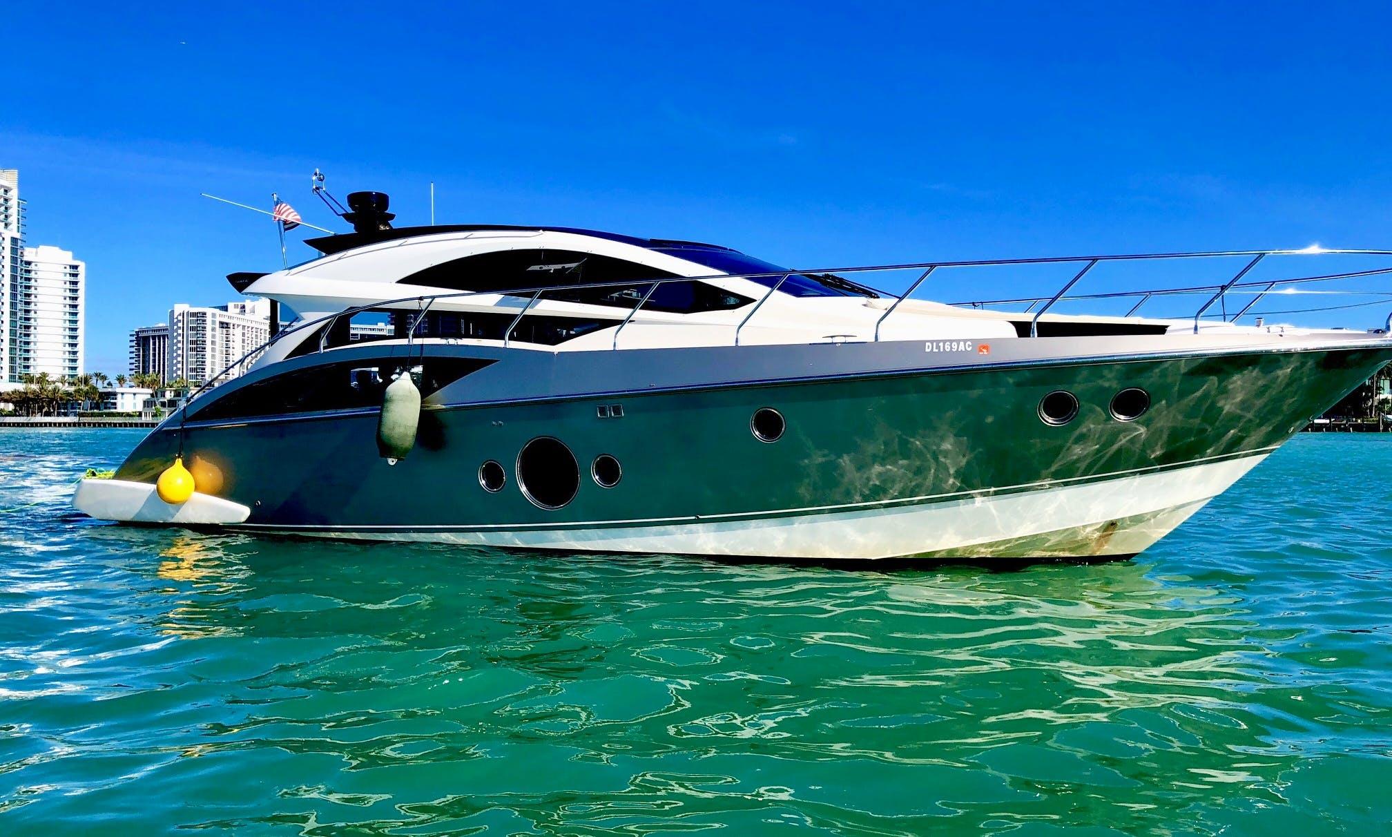Marquise 500 SC luxurios 50' M/Y charter Miami Beach, Bahamas & Key West