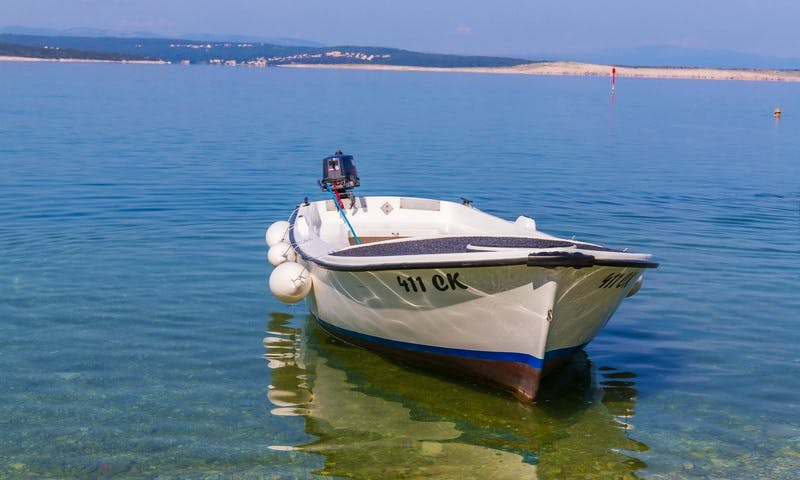 Rent a small Dinghy in Crikvenica, Croatia