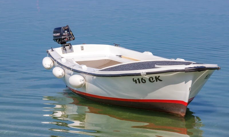 6 person Dinghy rental in Crikvenica