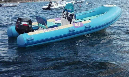 5 Person Rib Rental In Marina Maria Beach In Olbia, Italy
