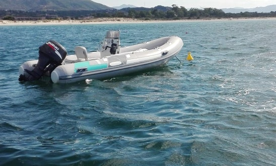 Book A 14' Semi-rigid Inflatable Boat In Olbia, Italy