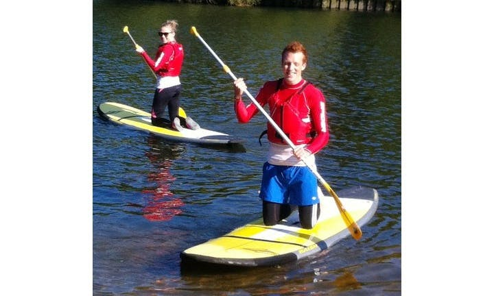 Stand Up Paddleboard Introductory Lesson for 2-Hours Ready to Book in Richmond, UK