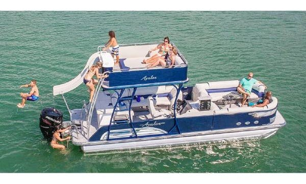 Double Decker Pontoon Rental in Austin