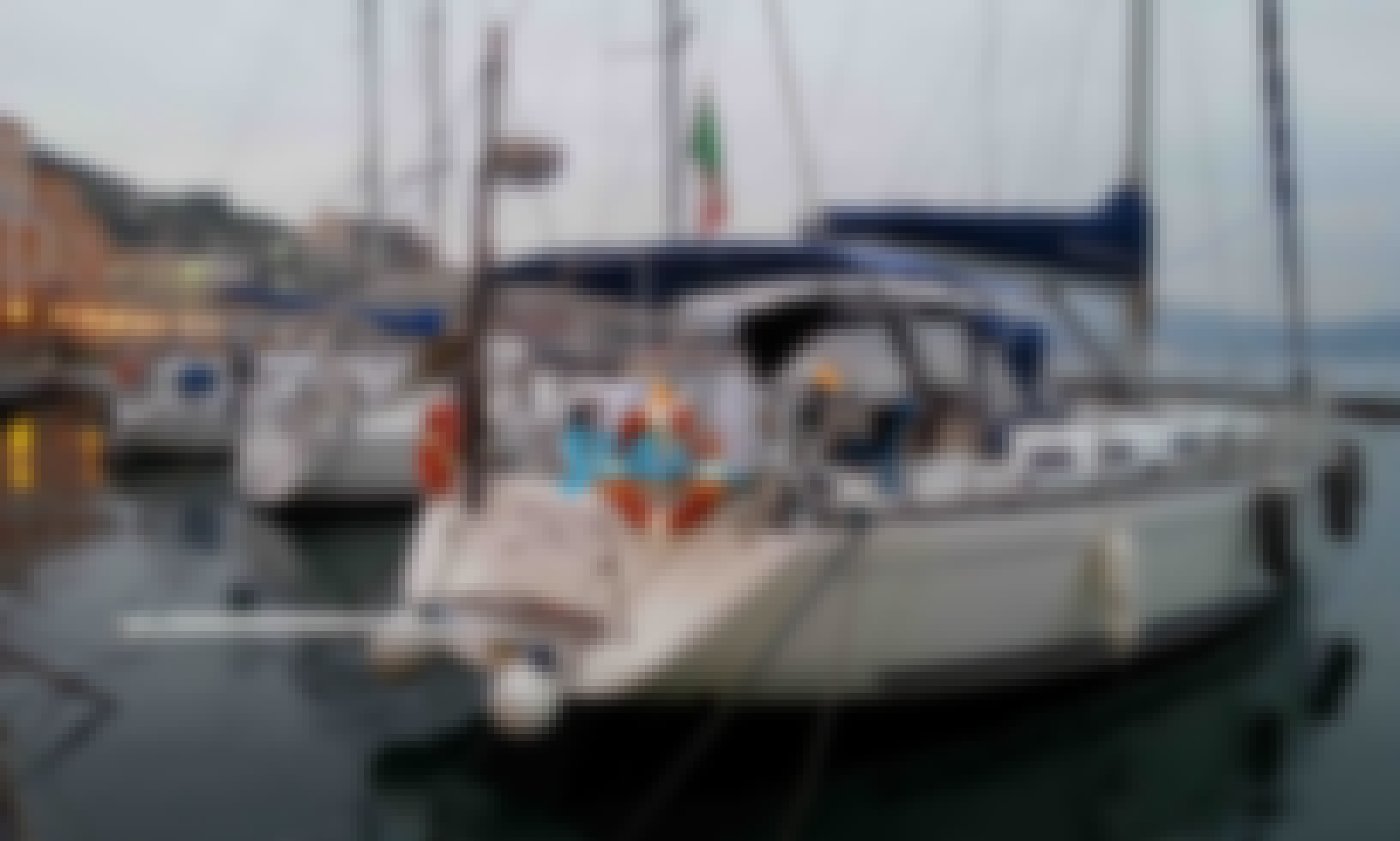 Schooner rental in Gaeta