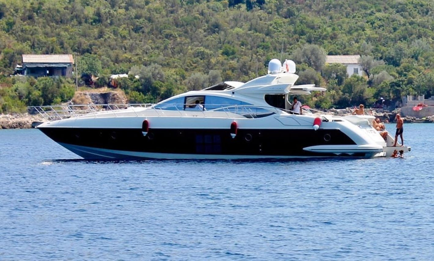 Have an Amazing Water Adventure with the 68' Motor Yacht Rental in Eivissa, Spain