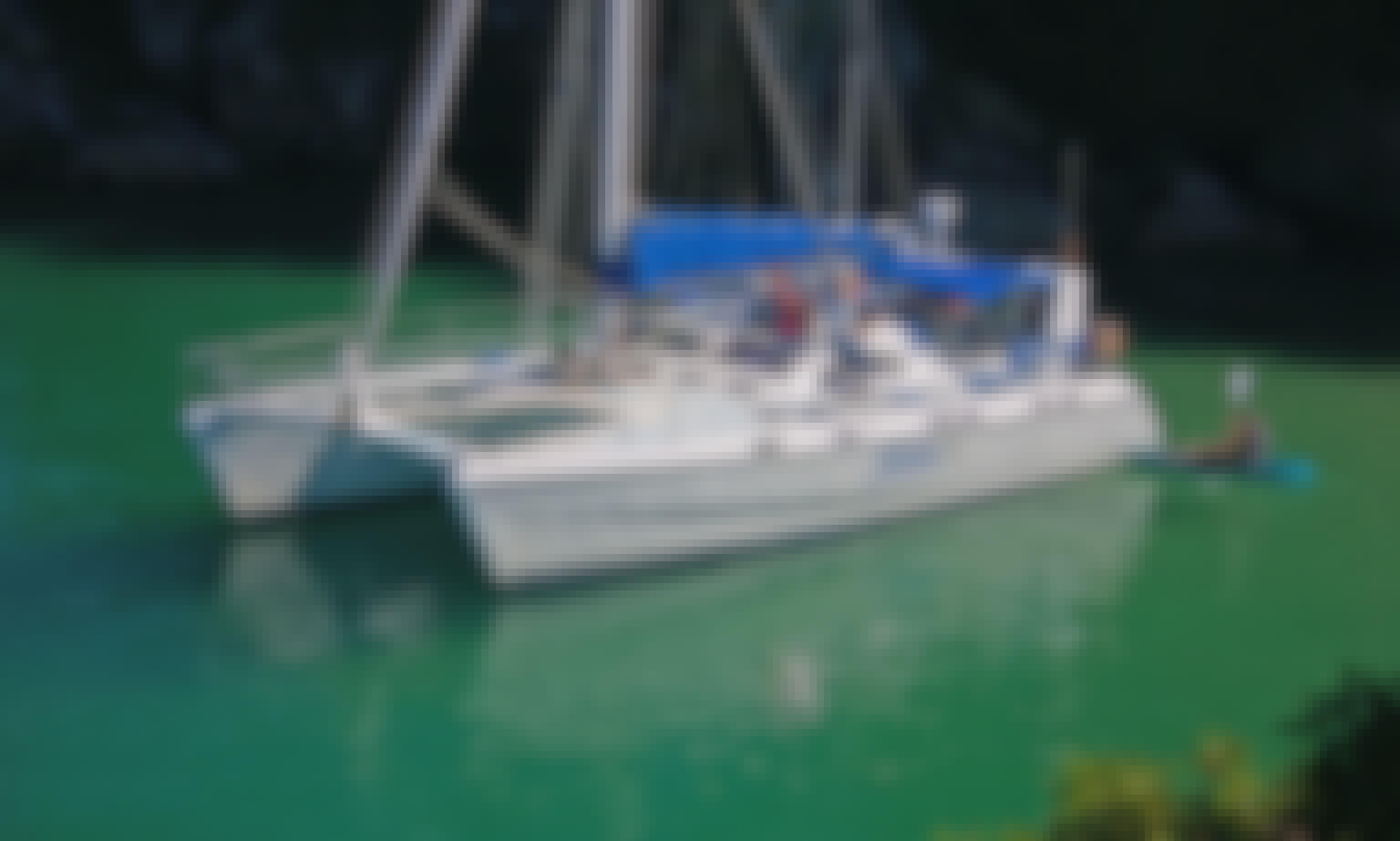 Lavranos 44 foot Sailing Catamaran - Private Skippered Charter