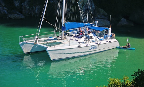 Lavranos 44 Foot Sailing Catamaran - Private Skippered Charter