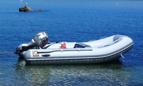 Rent Dinghy Boat with full tank gas in South Lake Tahoe