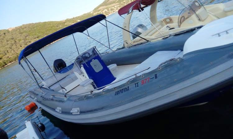 Explore Sivota, Greece With Your Friends On This 780 Rigid Inflatable Boat