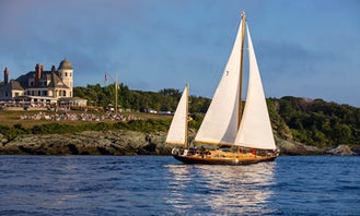 Experience Newport RI with us! - Charter Sailing Yacht