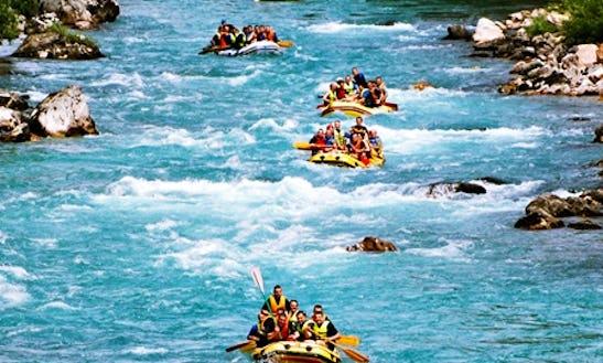 An Amazing Rafting Experience On Tara River In Kotor, Montenegro