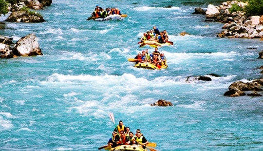 An Amazing Rafting Experience On Tara River In Kotor, Montenegro