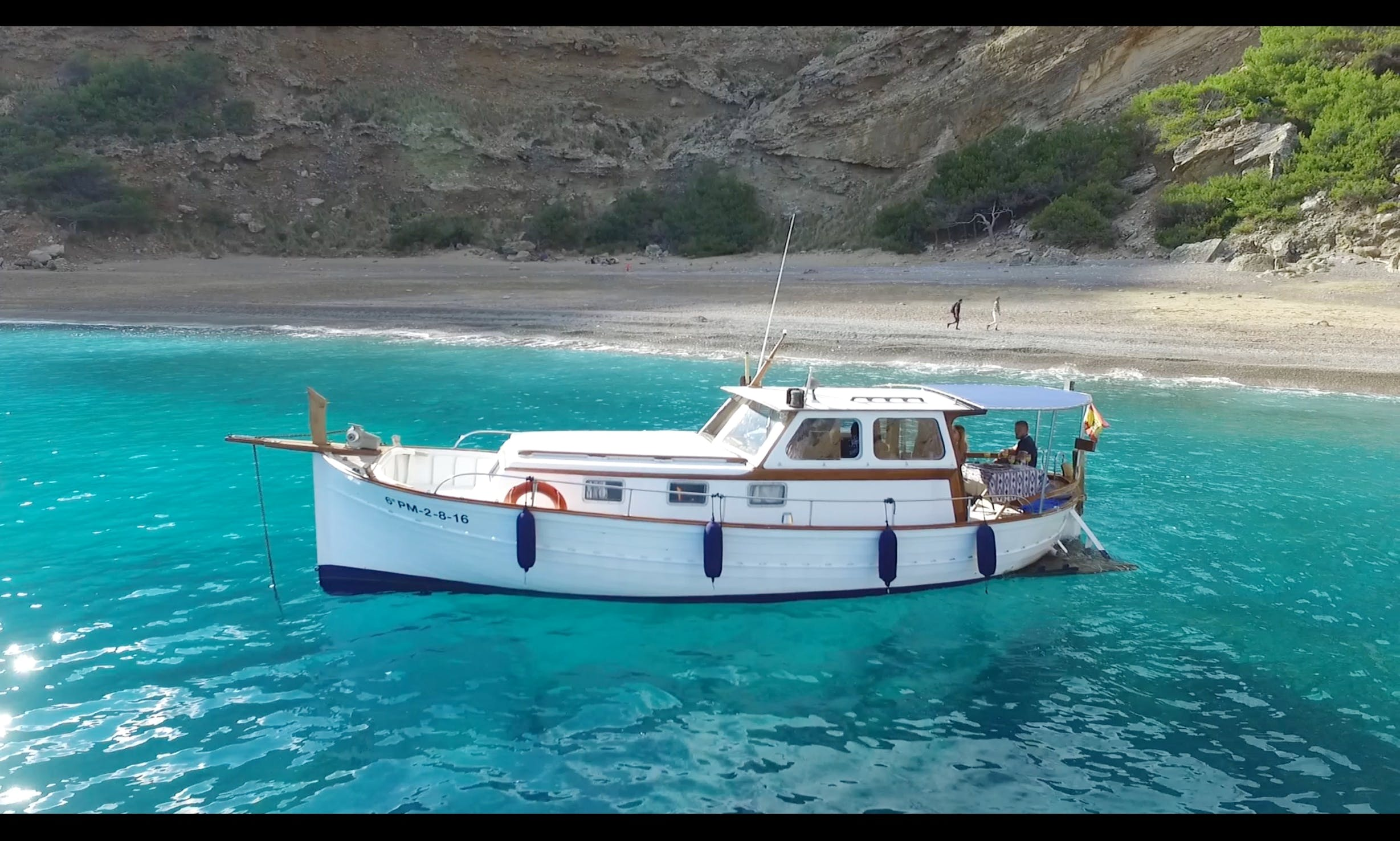 """36ft """"Curret"""" Authentic Mallorquin Traditional Boat Rental in Illes Balears, Spain"""